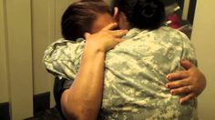 A soldier from the 2nd Infantry Division returned home after deployment to surprise her family.