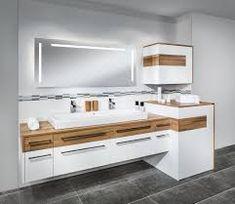 Bildergebnis für waschmaschine verstecken bad Casa Milano, Bathroom Styling, Bathroom Interior, Home Buying, Double Vanity, Washing Machine, Design Trends, Kitchen Design, Interior Decorating