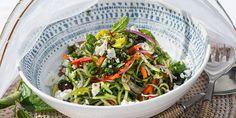 Spiralised Greek Salad