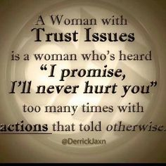 Trust Issues. A recovery from narcissistic sociopath relationship abuse.