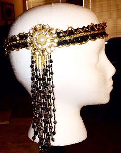 Headdress I made for Val