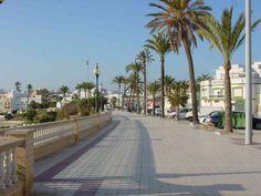 playa promenade in Rota, Spain -- I wanna visit the place I was born! Beautiful World, Beautiful Places, Amazing Places, Places To Travel, Places To See, Morocco Travel, Costa, Cadiz, Spain And Portugal