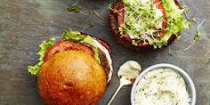Mushroom-Quinoa Burger - GoodHousekeeping.com