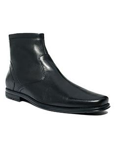 At the cusp of high fashion is this stylish pair of men's boots. So whether you want casual or dress wear, these leather boots will outfit you for both sides of the spectrum in any color.