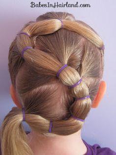 Little girls hair website - Babes in Hairland