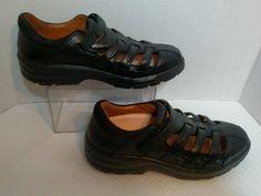 Dr Comfort Breeze Women's Size 9.5 Therapeutic Diabetic Black Leather Shoes