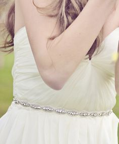 So many gorgeous, affordable, and I believe handmade in the USA (?) bridal sashes and accessories <3