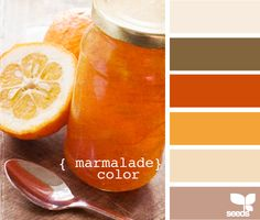 colors that work well with burnt orange