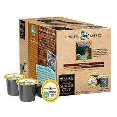 Caribou Daybreak Morning Blend K-Cups