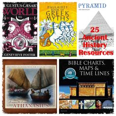Top 25 Ancient History Resources. Mystery of History Volume 1 #MOHI0