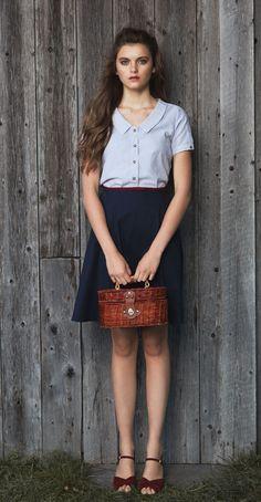 Vêtements Betina Lou disponible chez Jupon Pressé pour la saison printemps-été 2014