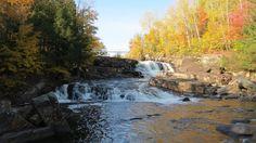 QC - Saint-Alban - Sentier des chutes à Marcotte Parcs, Saint, Waterfall, River, Outdoor, Fall Of Man, Pathways, Outdoors, Waterfalls