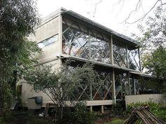 robin boyd house - Google Search Australian Architecture, Interior Architecture, Mid Century Exterior, Australia House, River House, Modern Exterior, Mid Century House, Brutalist, Interior Design Inspiration