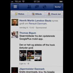 Sponsoreret historie på Facebook mobil er spottet.