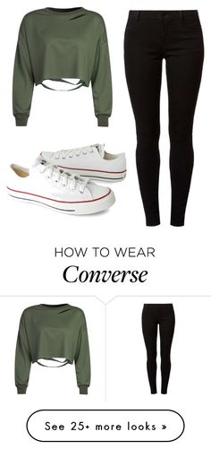 """Untitled #195"" by lior-baruch on Polyvore featuring WithChic, Dorothy Perkins and Converse"