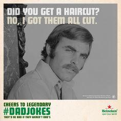 3 | Heineken Is Crowdsourcing Your Best Worst #DadJokes | Co.Create | creativity + culture + commerce