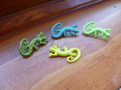 ONE Add On Gecko Charm Choose your Color by MulberryJewelryMaker, $2.00