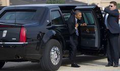 La bestia el coche tanque de Obama