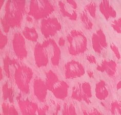 Animal Print Leopard Pink Wallpaper