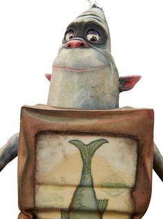 Animation Art:Puppet, The Boxtrolls Fish Original Animation Puppet (LAIKA,2014)...