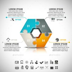 Business Infographic #creative #colorful  • Download here → https://graphicriver.net/item/business-infographic/8935577?ref=pxcr