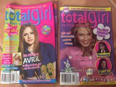 2 X Avril Lavigne Delta Britney Spears TOTAL GIRL  No Posters MAGAZINE 2003 Used  | eBay