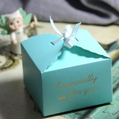 10 pcs Wedding Favor Box Tiffany blue wedding by sweetywedding, $9.00