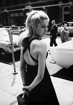 Catherine Deneuve à Londres