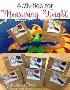 These measuring weight activities are sure to keep your kindergarten and first graders engaged! My students were GLUED to this lesson! It's a must-do for sure!