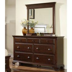 Picket House Furnishings Canton 7 Drawer Dresser - Deep Cherry - ELET063
