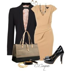 """Job Interview Outfit $300"" by ccroquer on Polyvore"