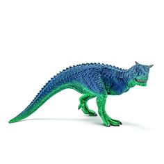 Carnotaurus Schleich – Dinosaurs Galore. NEW from SCHLEICH The fossils of Carnotaurus have the best to date examples of mosaic scales (skin) and there is no evidence of feathers on this Jurassic creature.