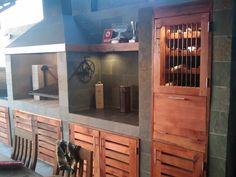 Pergola Ideas For Deck Code: 7357999048 Outdoor Kitchen Grill, Outdoor Kitchen Design, Grill Design, Patio Design, Parrilla Exterior, Deck With Pergola, Pergola Ideas, Backyard Patio, New Homes