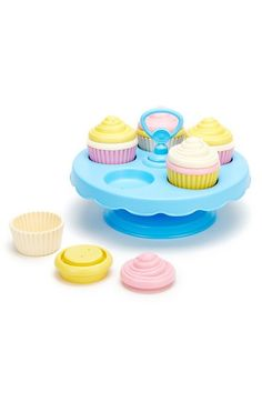 Cupcake Toy Set // Made in USA Christmas Gifts for Kids