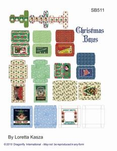 sb511- revised christmas ornament boxes
