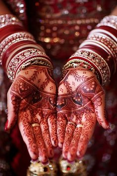 Henna Indian wedding design