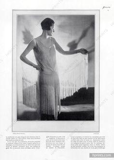 Madeleine Vionnet (Couture) 1927 Photo Paul O'Doyé