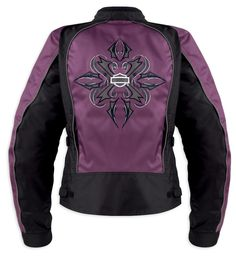 pics of harleys for women | ... News » NEW STORMY FUNCTIONAL JACKET FOR WOMEN FROM HARLEY-DAVIDSON
