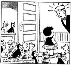 Cats in Art & Illustration: Nancy