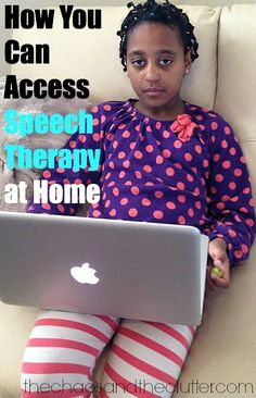 How You Can Access Speech Therapy at Home