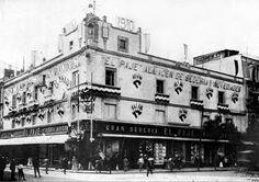 El Paje, Plateros y Empedradillo Cd. de Mexico 1910, hoy Madero y Monte de Piedad