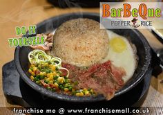 ✔ Barbeque Pepper Rice dengan konsep Pepper Lunch mengambil segmen middle and midd. Rice, Lunch, Beef, Stuffed Peppers, Food, Modern, Vintage, Meat, Eat Lunch