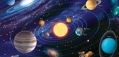 Dzięki sile grawitacji wytwarzanej przez Słońce możliwe jest, że w jego otoczeniu utrzymuje się szereg ciał niebieskich.