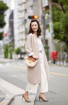コーディガン×ラウンドショルダーバッグでトレンドを意識した秋のニュアンスコーデ1#fashion #coordinate #ファッション #コーデ