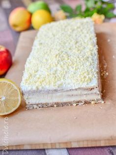 Romanian Desserts, Russian Desserts, Romanian Food, Food Cakes, Vanilla Cake, Nutella, Cookie Recipes, Biscuits, Caramel