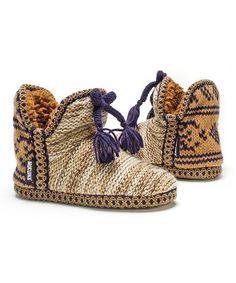 Look at this #zulilyfind! Beige Amira Slipper Booties - Women #zulilyfinds