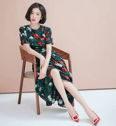 Kpop Fashion, Daily Fashion, Korean Fashion, Song Hye Kyo Style, Shot Hair Styles, Female Profile, My Hairstyle, Portrait Poses, Fashion Poses