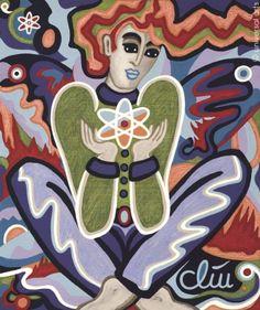 Jacqueline Ditt - Playing God ? (Gott spielen ?) - universal arts Galerie Studio - Grafik Druck Kunstdruck nach Gemälde universal arts Galerie Studio edition http://www.amazon.de/dp/B00K8AD8CY/ref=cm_sw_r_pi_dp_lgJXvb03HMMVK