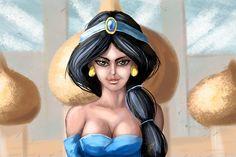 Desert Jewel-Princess Jasmine by Zazoreal