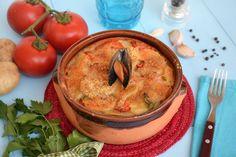 Tiella barese, scopri la ricetta: http://www.misya.info/ricetta/tiella-riso-patate-e-cozze.htm